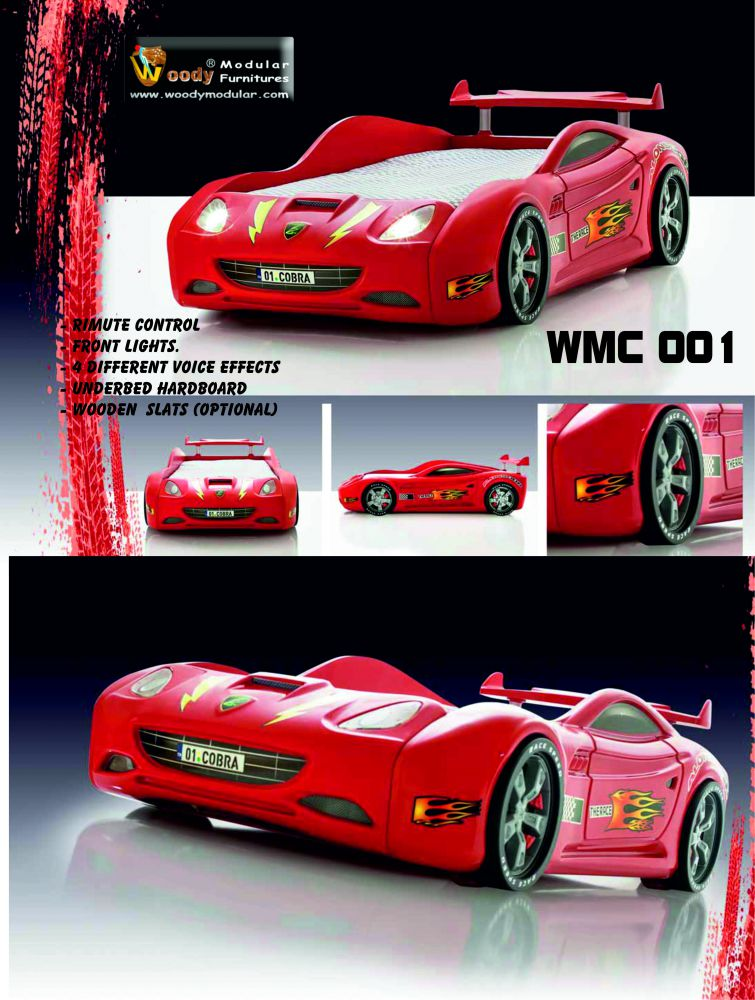 WMC 001 Car Shaped Bedstead