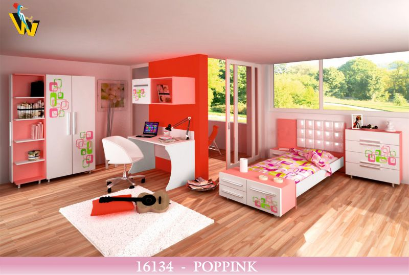 POPPINK YOUNGS BEDROOM SET