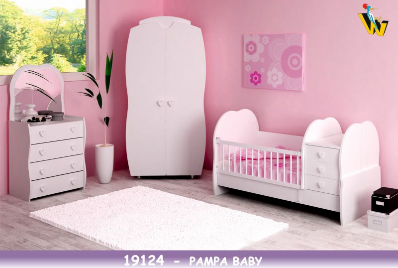 PAMPA BABY ROOM WITH TRANSFORMABLE BED