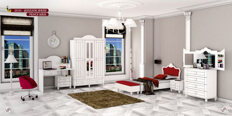 PRINCE (SHAHZADEH) TEENAGER BEDROOM SET